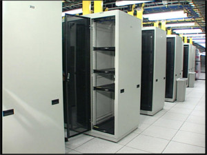 Leaks above Data Centers like these could be disastrous
